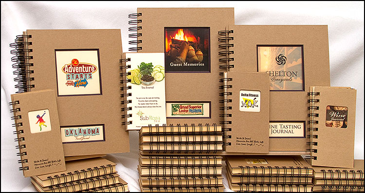 Custom Kraft Journals